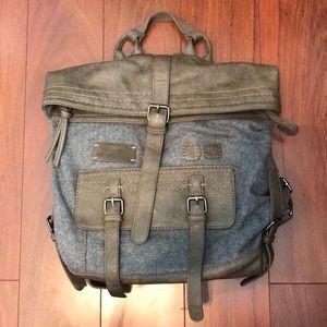 Sherpani AMELIA Gray Wool Backpack | Purse EUC!!!
